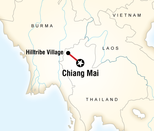 Cultural Culture Local Living Thailand—Hilltribe Experience package