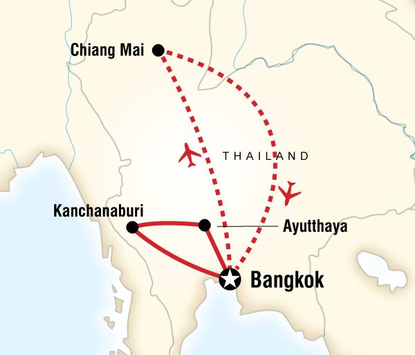 Ayutthaya Bangkok Highlights of Thailand Trip