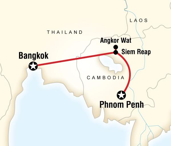Angkor Wat Bangkok Discover Cambodia Trip
