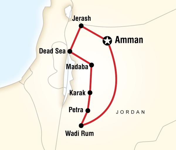 Amman Dead Sea Jordan Highlights Trip