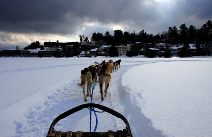 66.5 Degrees North: Exploring Finnish Lapland at the Arctic Circle by Dog Sled, Snowshoes and More tour