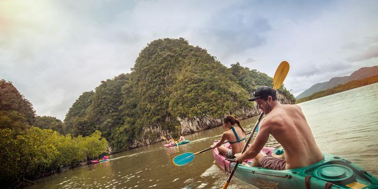 Thailand Hike, Bike & Kayak tour