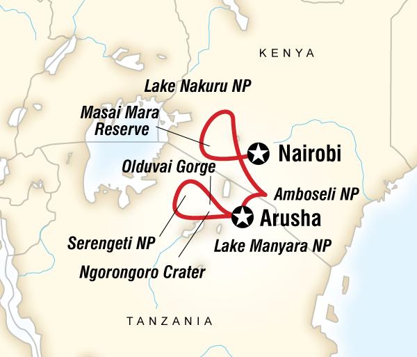 Amboseli National Park Arusha Kenya & Tanzania Safari Experience Trip
