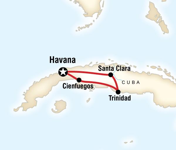 Havana Topes de Collantes Central Cuba Adventure Trip