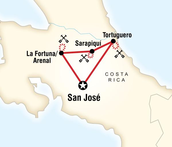 Caribbean San José Costa Rica Kayaking Adventure Trip