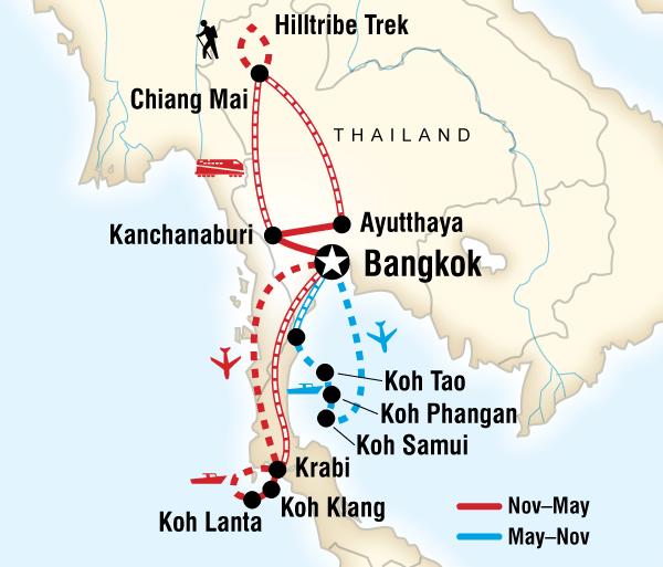Ayutthaya Bangkok Thailand Experience Trip