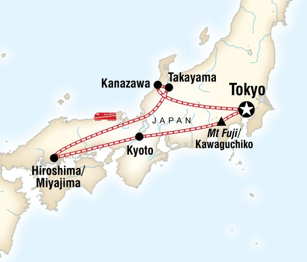 Hiroshima Kanazawa Discover Japan Trip