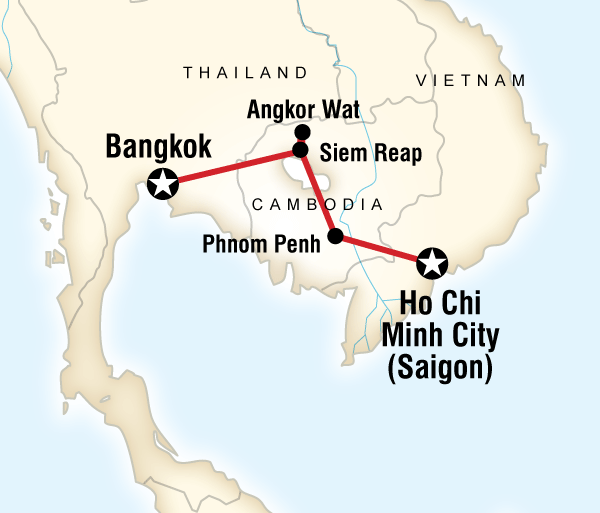 Angkor Wat Bangkok Cambodia Experience Trip