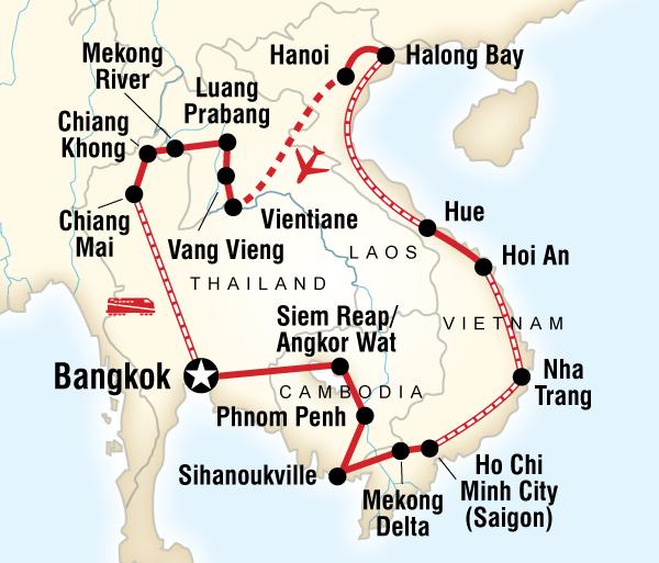 Angkor Wat Bangkok Indochina Discovery Trip