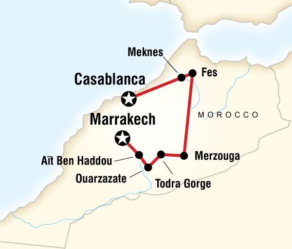 Casablanca Marrakech Marvellous Morocco Trip