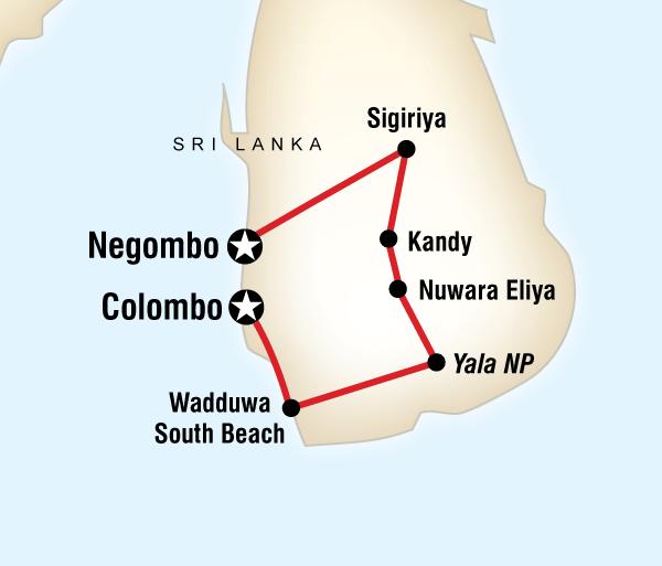 Colombo Negombo Treasures of Sri Lanka  Trip