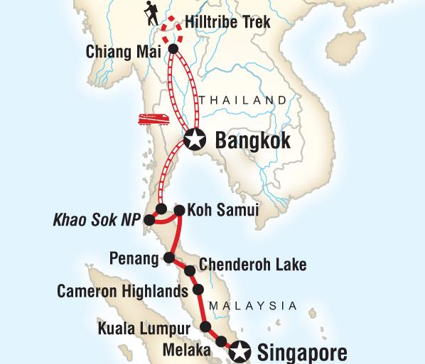 Bangkok Chiang Mai Southeast Asia on a Shoestring Trip