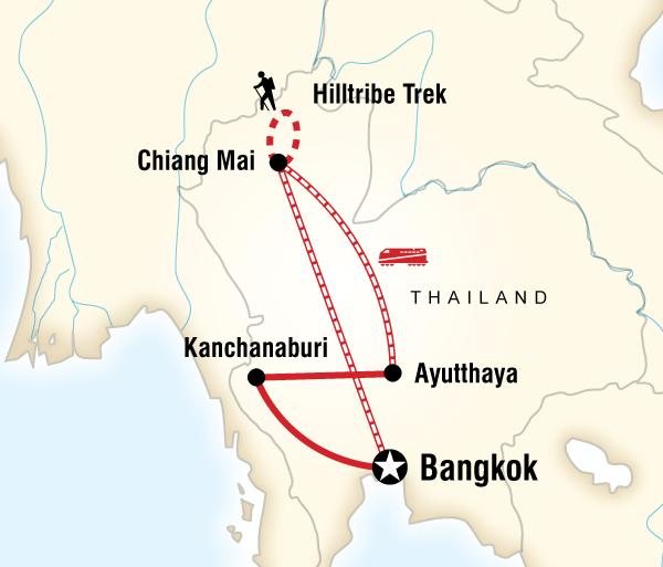 Ayutthaya Bangkok Northern Thailand Experience Trip