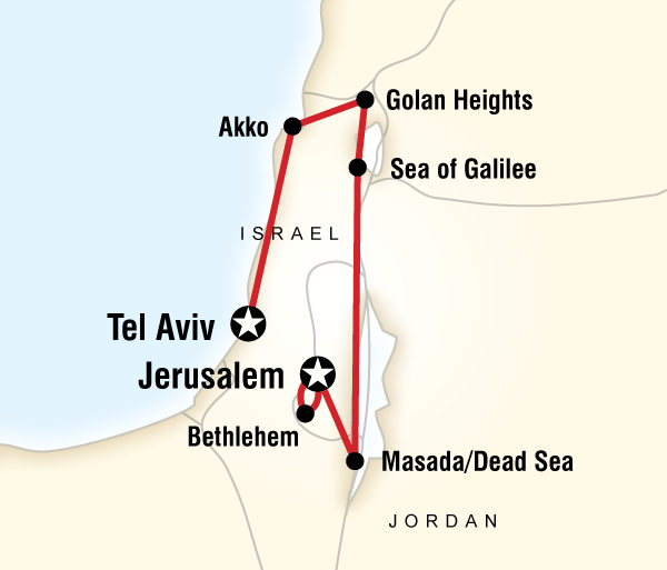 Bath Bethlehem Highlights of Israel Trip