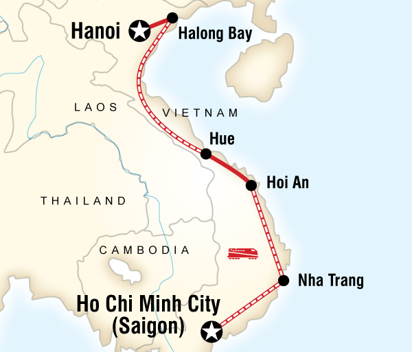 Da Nang Hanoi Vietnam on a Shoestring Trip