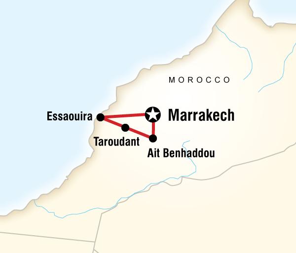 Agadir Ait Benhaddou Morocco Family Adventure Trip