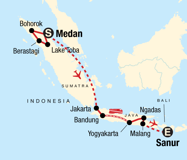 Transformative Culture Best of Sumatra & Java package