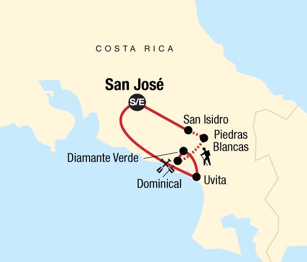 Adventure Culture Trek Hidden Costa Rica package