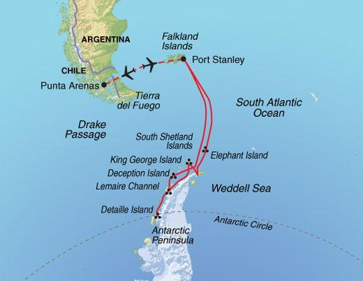 National Parks Wildlife viewing Fly & Cruise – Epic Antarctica package