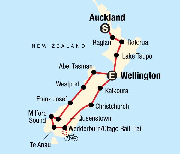 Abel Tasman National Park Alps Best of New Zealand Trip