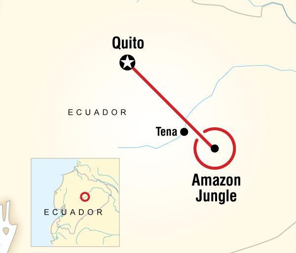 Amazon Rainforest Quito Local Living Ecuador—Amazon Jungle Trip