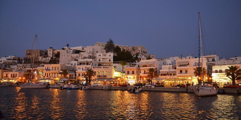 Sailing Greece - Santorini to Athens tour