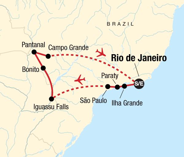Campo Grande Pantanal Wonders of Brazil Trip