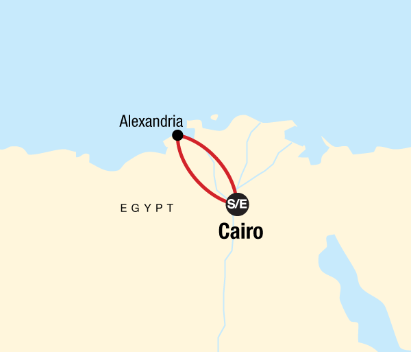 Alexandria Cairo Alexandria Independent Adventure Trip