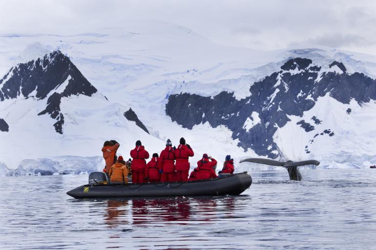 Nature & Wildlife Nature Fly & Cruise – Antarctic Circle Quest package