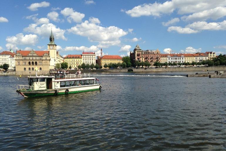 Prague vltava steamer river-Czech_509926_P