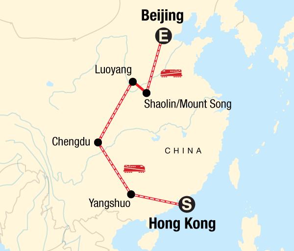 Beijing Chengdu Hong Kong to Beijing on a Shoestring Trip