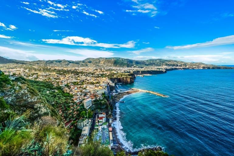 Landscape of Amalfi Coast, Italy