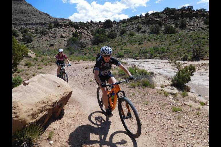 Adventure Hiking Kokopelli Trail 5 Day Mountain Bike Trip package