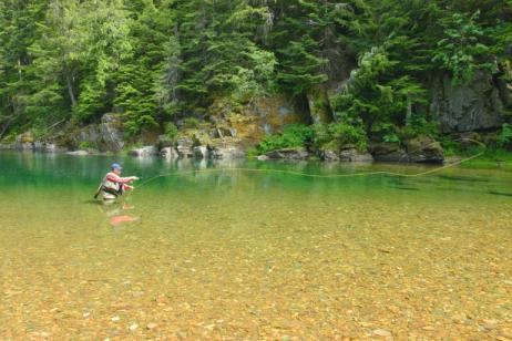 Coeur d'Alene River Fly Fishing tour