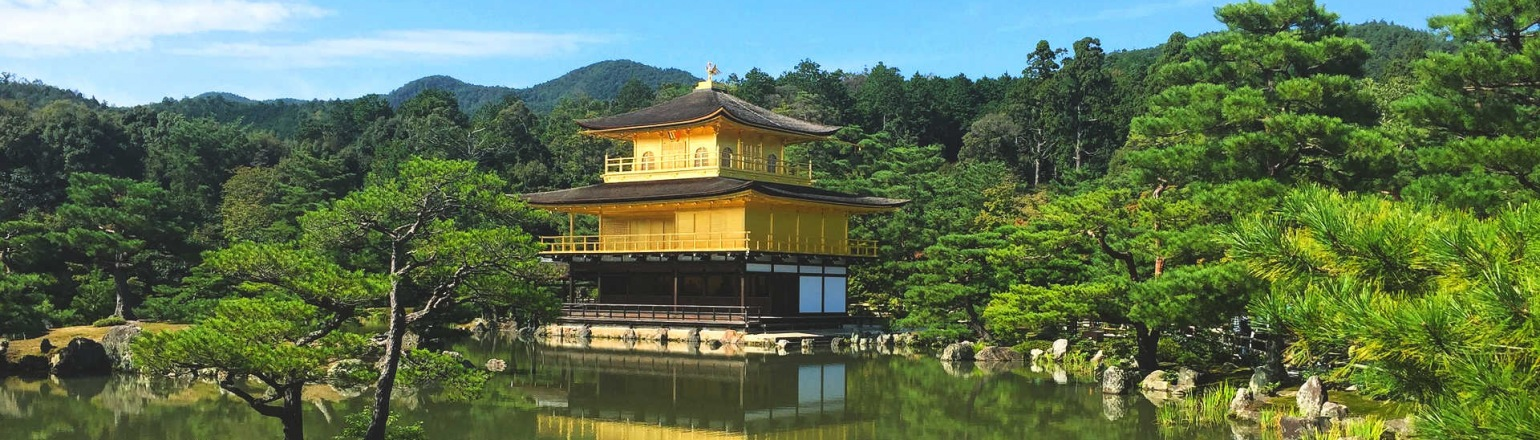The Golden Pavilion, top Japan attraction