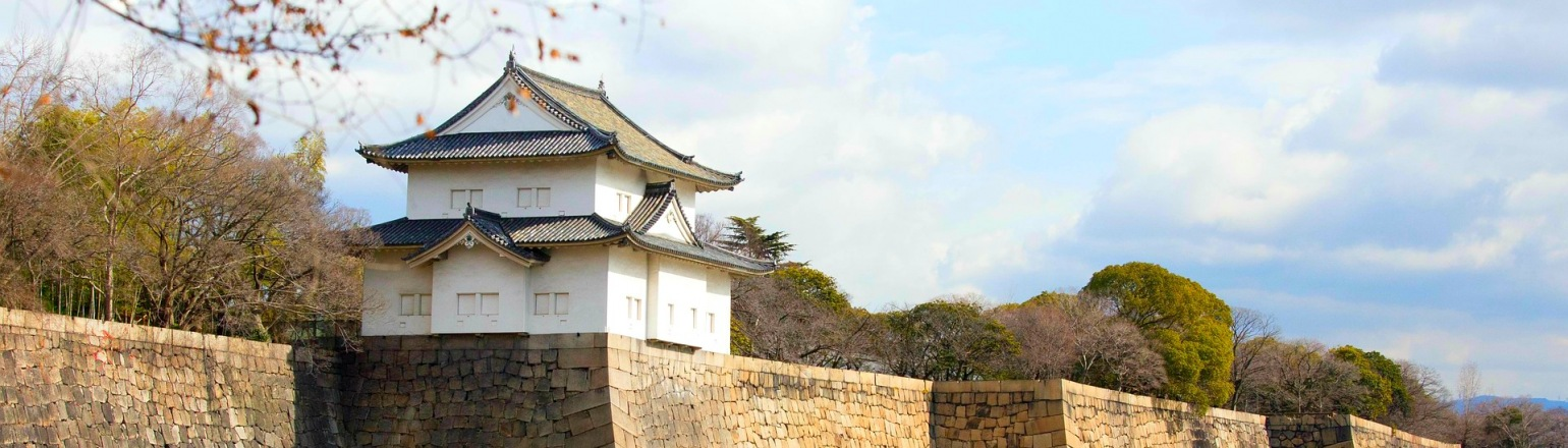 Osaka castle top guided tour attraction in Japan