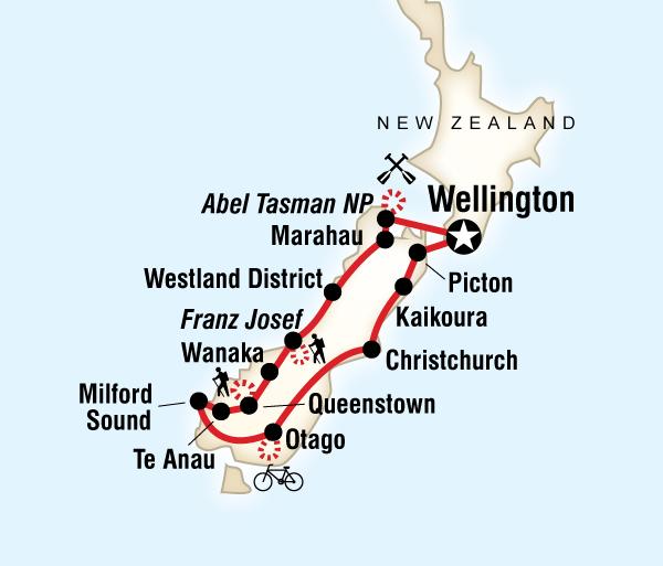 Abel Tasman National Park Christchurch New Zealand – South Island Multisport Trip