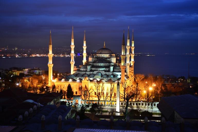 Beautiful Blue Mosque-Turkey-908510-P