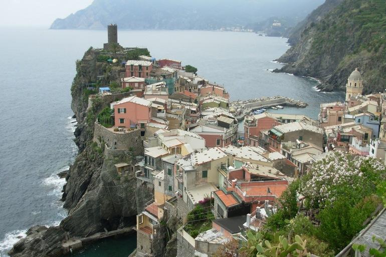 Cinque Terre view, Italy_P