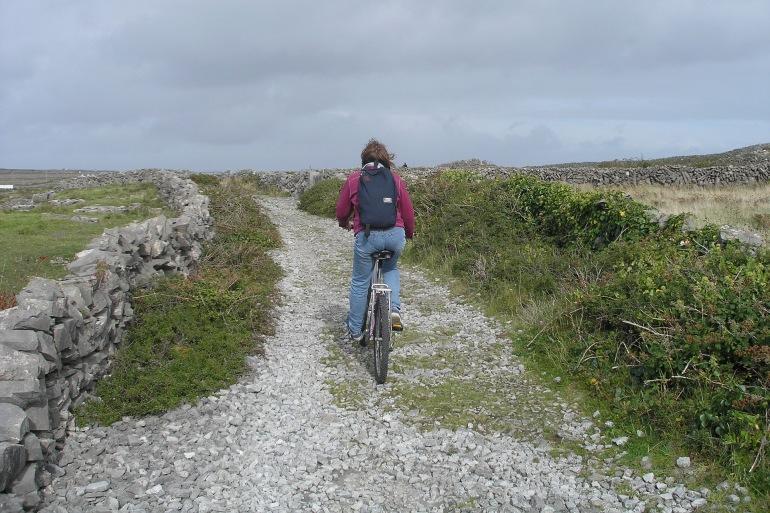 Girl cycling- Ireland-2163070-P