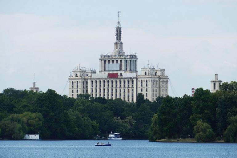 Lake of Bucharest, Europe_P