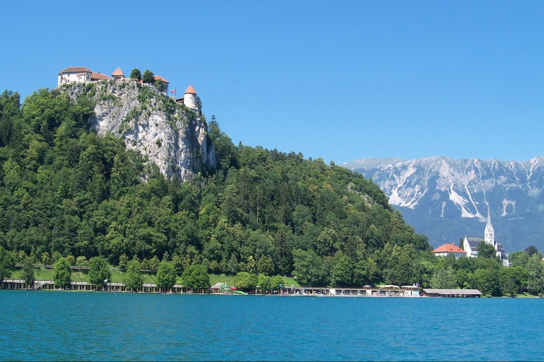 Lake view of Slovenia, Europe