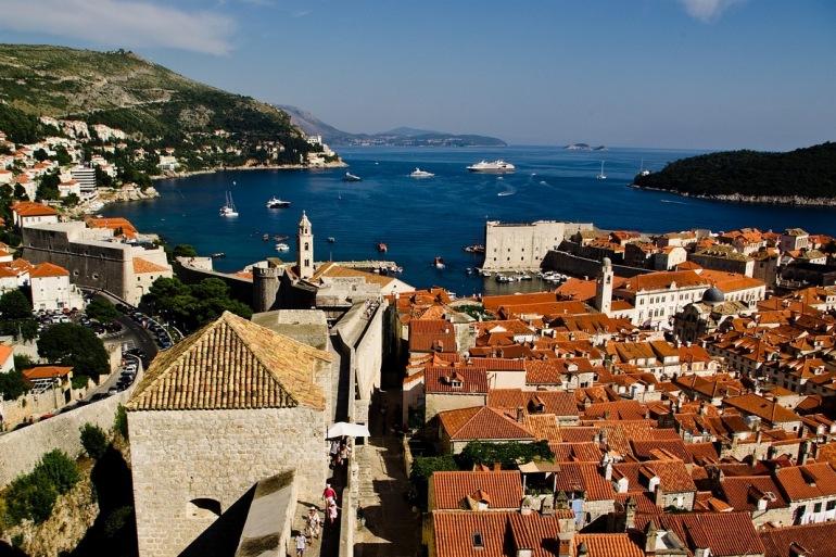 Massive roof and walls-Dubrovnik-1186948-P