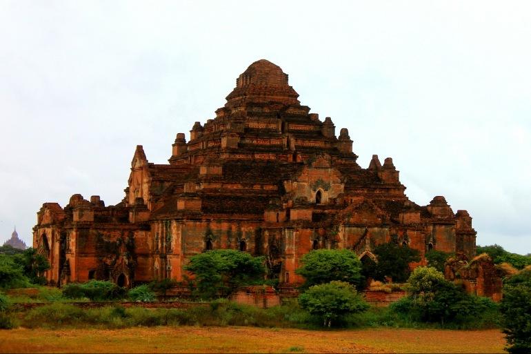 Temple view at Bagan, Asia