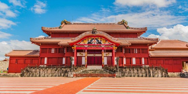 Shuri Castle, Japan