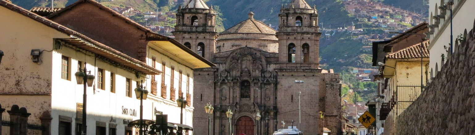 City of Cusco in Peru, landmarks and attractions