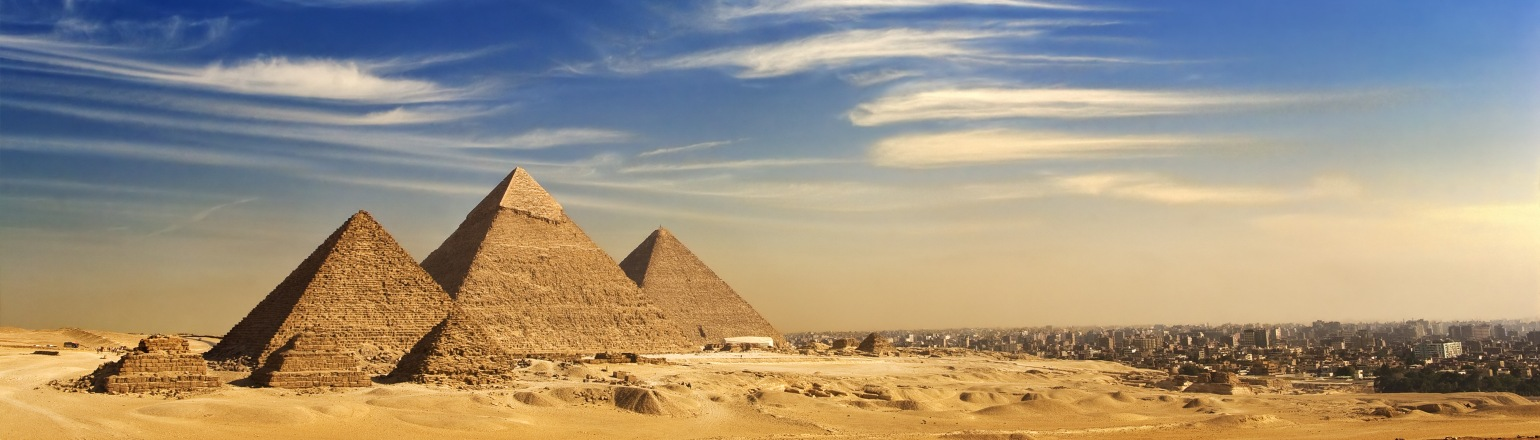 Top attraction in Egypt, the Pyramids