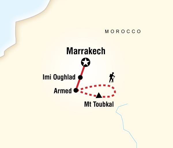 Bath Marrakech Climb Mt Toubkal Trip