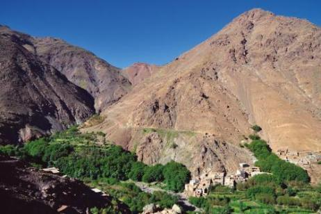 High Atlas Trek tour