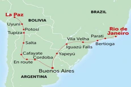 Andes to Rio tour